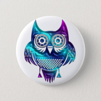 Owl Pin back buttons, Backpack or Hat Pins