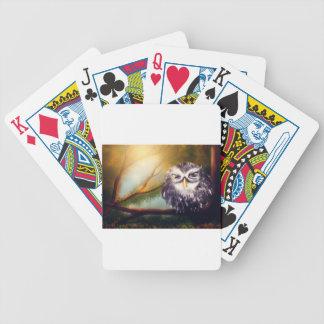 owl poker deck