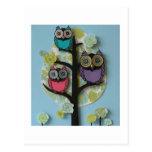 owl post card