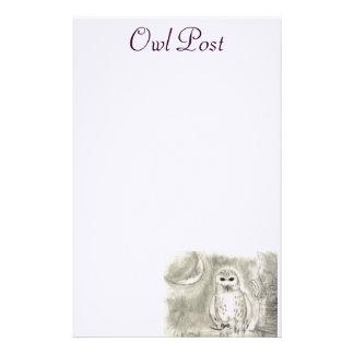 Owl Post Stationery