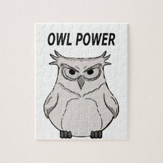 owl power jigsaw puzzle