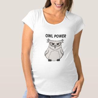 owl power maternity T-Shirt