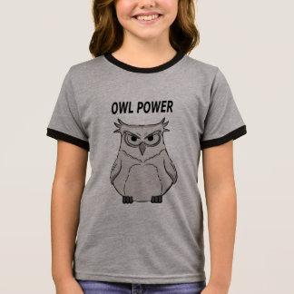 owl power ringer T-Shirt