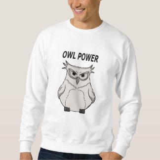 owl power sweatshirt