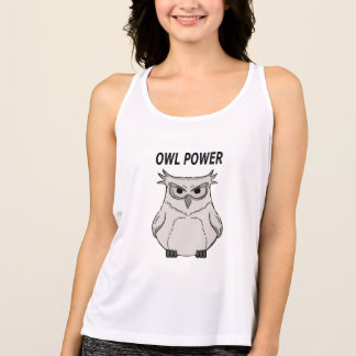 owl power tank top