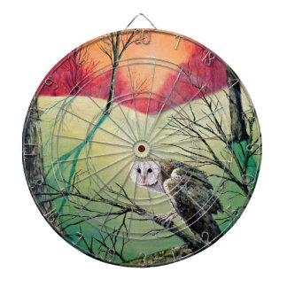 "Owl Products featuring ""Soren: Owl of Ga' Hoole"" Dartboard"