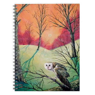 "Owl Products featuring ""Soren: Owl of Ga' Hoole"" Notebooks"
