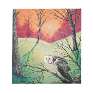 "Owl Products featuring ""Soren: Owl of Ga' Hoole"" Notepad"