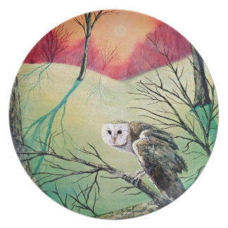"Owl Products featuring ""Soren: Owl of Ga' Hoole"" Plate"
