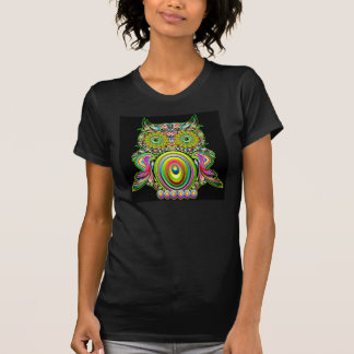Owl Psychedelic Popart T-Shirt