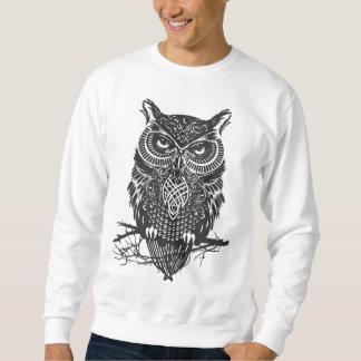owl pullover sweatshirt