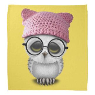 owl pussy hat bandana