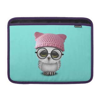 owl pussy hat sleeve for MacBook air