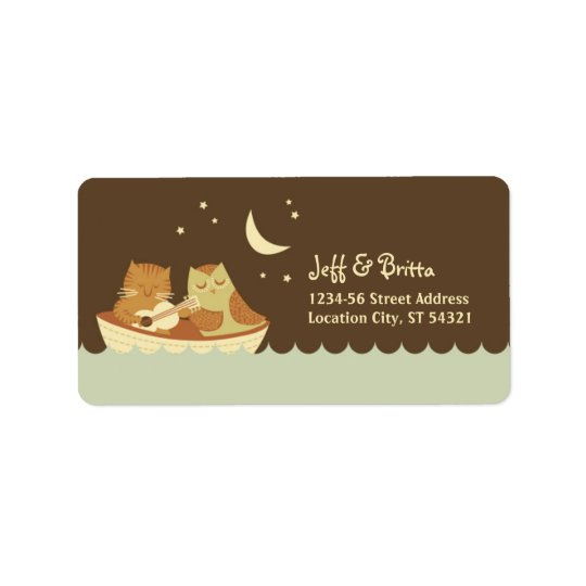 Owl & Pussycat Storybook Wedding (Blue and Brown)