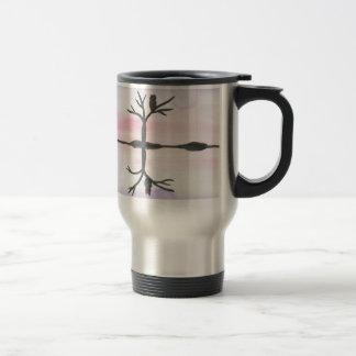 Owl Reflected Travel Mug