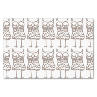 Owl Repeat Pattern Tissue Paper