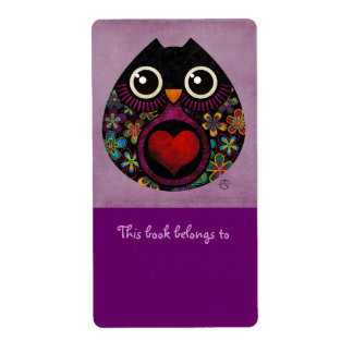 Owl s Hatch Bookplates Labels