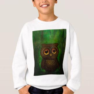 Owl sad eyes sweatshirt