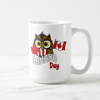 Owl See You Canada Day Mug
