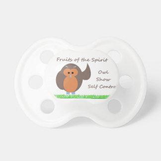 Owl Show Self Control  BooginHead® Pacifier