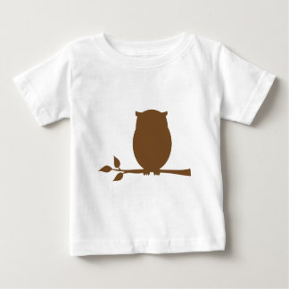 Owl Silhouette Baby T-Shirt