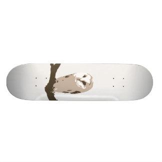 Owl Skateboard Deck