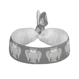 Owl Sketch Cartoon Hair Tie