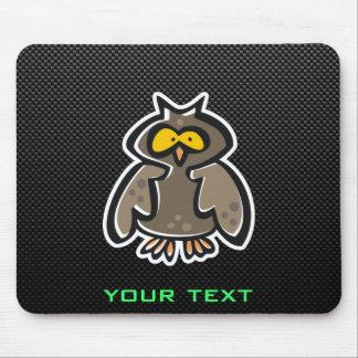 Owl; Sleek Mouse Pad