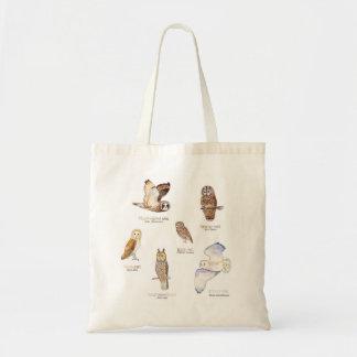Owl species bag