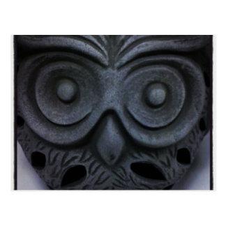 Owl Statue Postcard