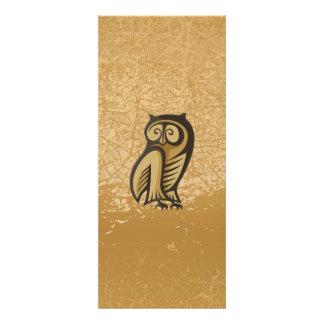 Owl Symbol Color Personalized Invitations
