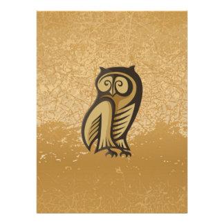 Owl Symbol Color Invite