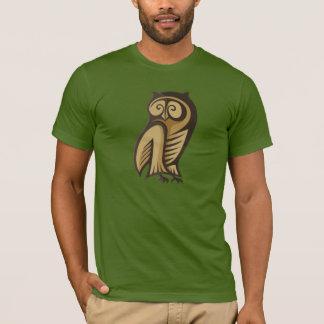 Owl Symbol Colour T-Shirt