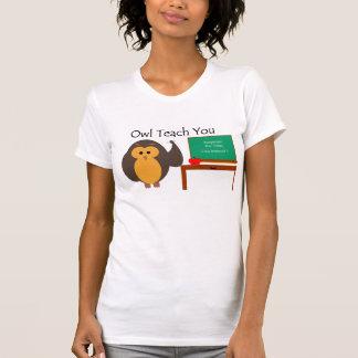Owl Teach You American Apparel T-Shirt