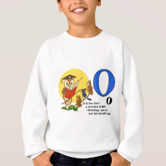 Owl teacher of birds sweatshirt