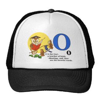 Owl teacher of birds trucker hat