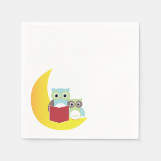 Owl Themed Napkins- Baby Shower Paper Napkin