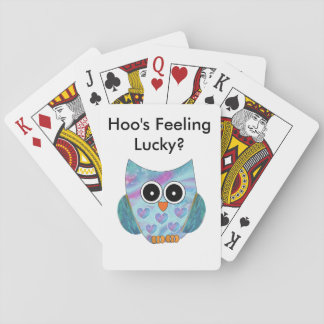 Owl Themed Playing Cards