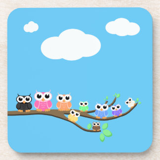 """""""OWL Together Now"""" Coaster"""
