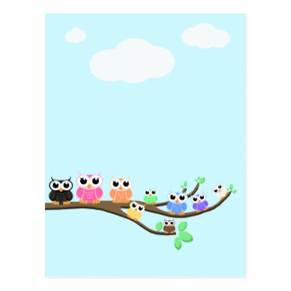 """OWL Together Now"" Postcard"