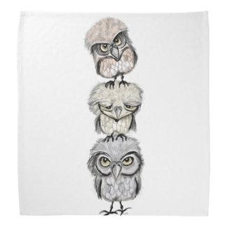 owl totem bandana