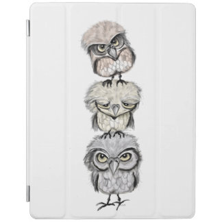 owl totem iPad cover