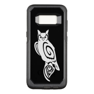 Owl Tribal Wise Great Horned OtterBox Commuter Samsung Galaxy S8 Case