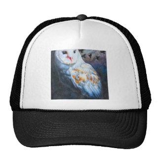 Owl Under Blood Moon Trucker Hat