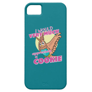 Owl Unicorn I Would Very Much Appreciate a Cookie iPhone 5 Cover