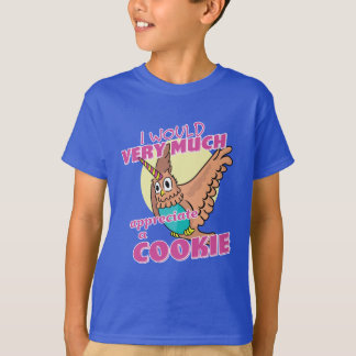 Owl Unicorn I Would Very Much Appreciate a Cookie T-Shirt