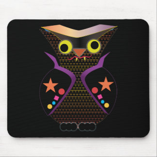 Owl Vampire Mouse Pad