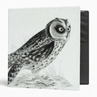 Owl Vinyl Binders