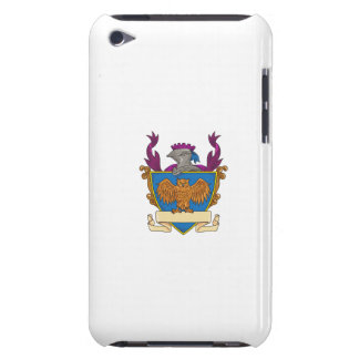 Owl Wings Spread Knight Helmet Drawing iPod Touch Case-Mate Case