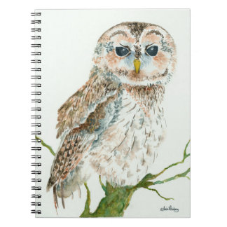 OWL, Wise Keeper of Spirits Notebook